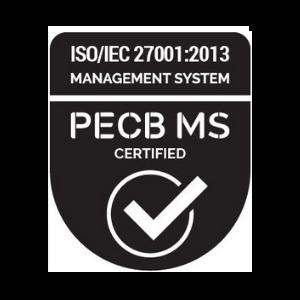 PECB MS Certified - ISO/IEC 27001:2013 badge